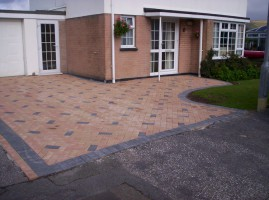 SEALING: We recommend waiting before deciding to apply a sealant to your driveway.